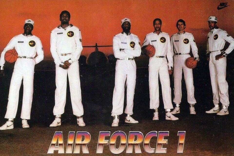 Tres siluetas, una historia: 35 años del Nike Air Force One.