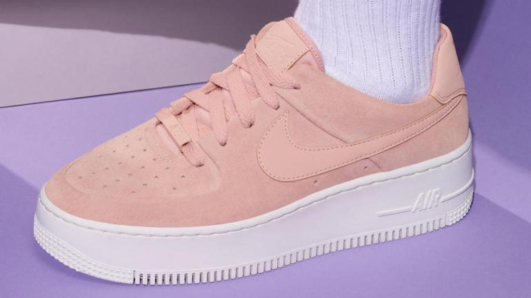 info for a47a1 48c4f Nike-Air-Force-1-Sage-Low-Pink