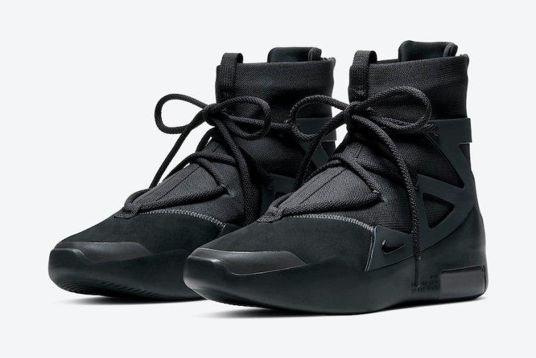 Nike-Air-Fear-of-God-1-Black-Noir-AR4237-005-Release-Date-4